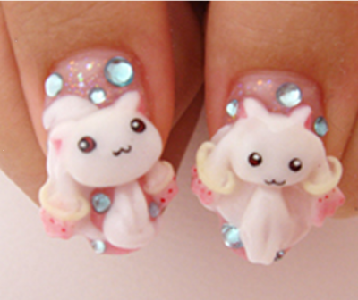 ハロー ... - Japanese Anime Nail Art♥ PuniPuniJapan
