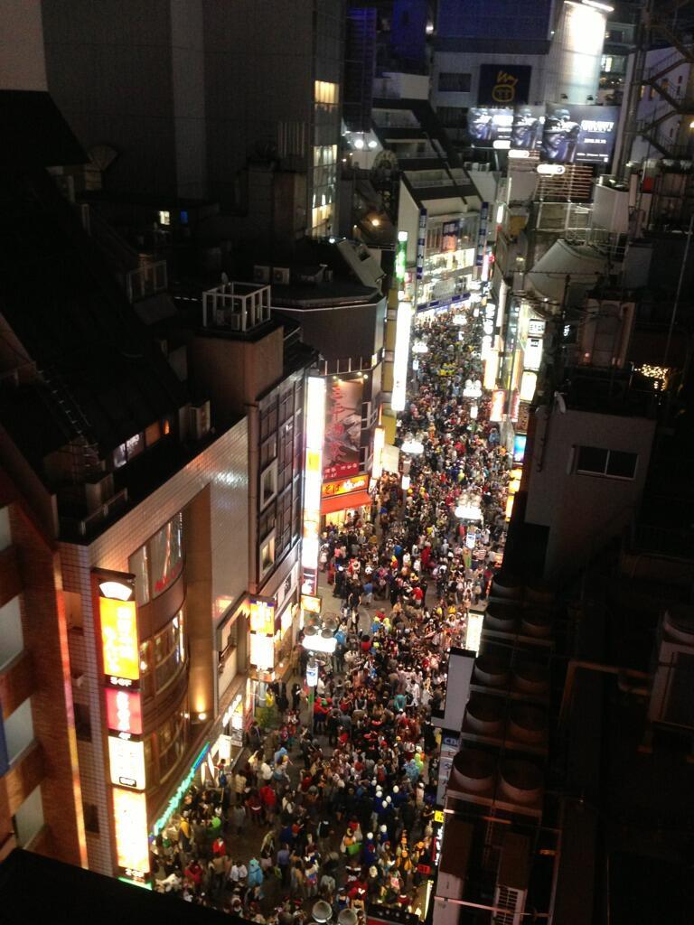 Shibuya Halloween