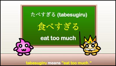 tabesugiru