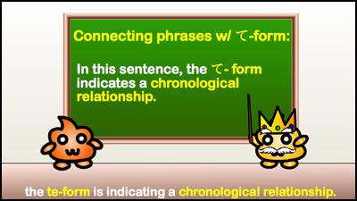 chronological relationship
