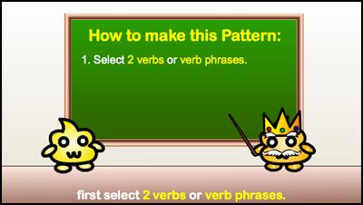 select 2 verbs