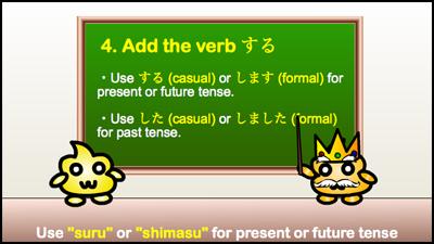 use suru for present